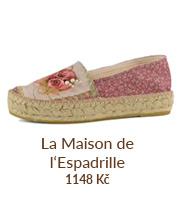 Francouzské espadrilky -
