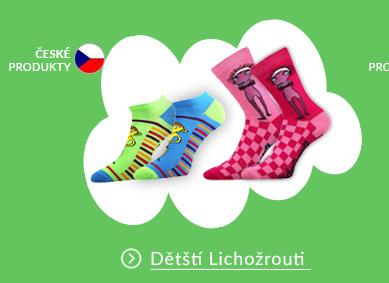 Dětské barevné ponožky