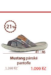 Mustang pantofle