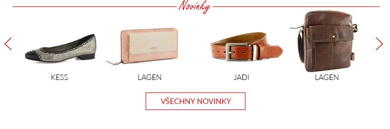Nejnovější produkty na JADI