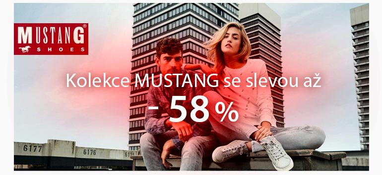 Výprodej kolekce Mustang