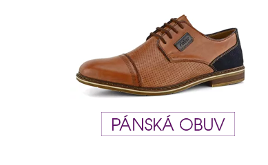 Pánská obuv s 8% slevou při uplatnění slevového kódu