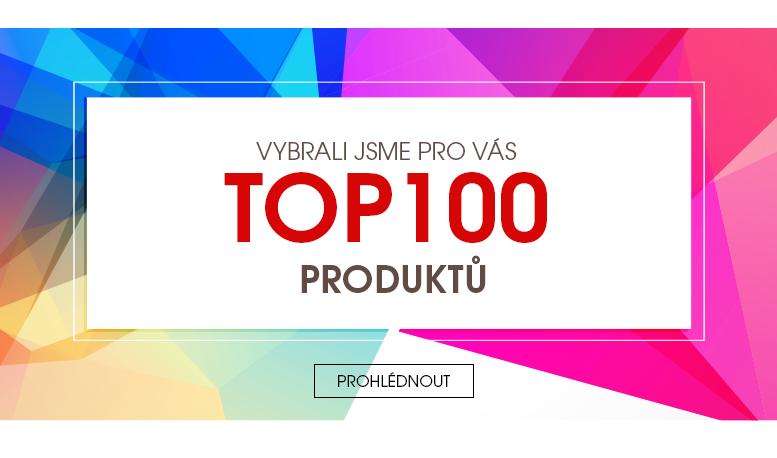 Vybrali jsme pro Vás TOP 100 produktů