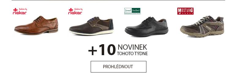 Podzimní novinky pánské obuvi