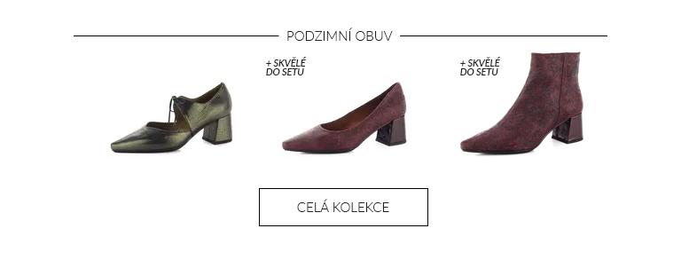 Podzimní kolekce obuvi Hispanitas