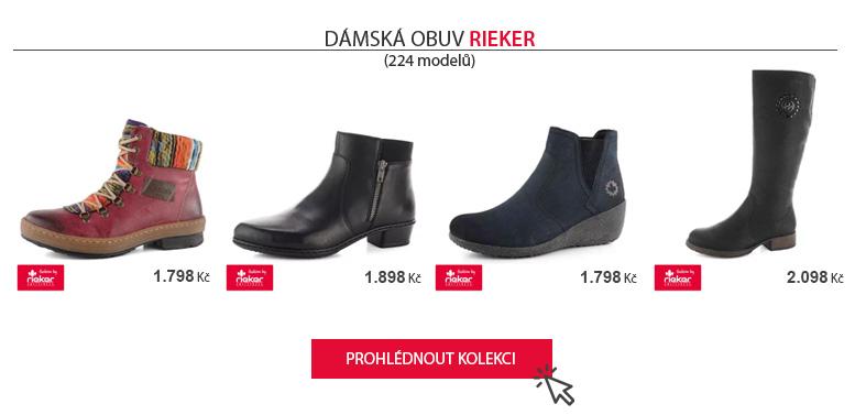 Nová dámská kolekce Rieker