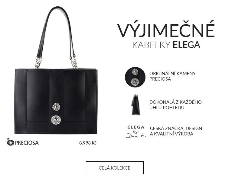 Výjimečné kabelky Elega