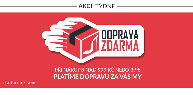 Doprava zdarma po celé České republice i Slovensku