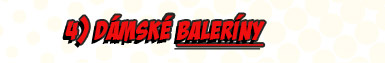 Dámské baleríny