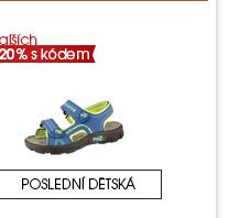 Dětská obuv o dalších 20 % levněji