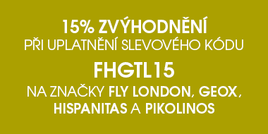 -15 % na Fly London, Geox, Hispanitas a Pikolinos