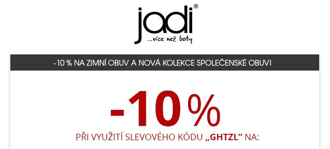 -10% na zimní obuv a nová kolekce společenské obuvi