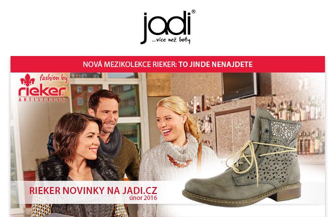 JADI.cz - nová mezikolekce značky Rieker