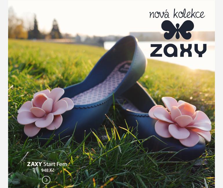 Prohlédněte si novou kolekci ZAXY