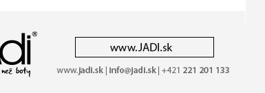 JADI.sk - Vaše internetové obuvnictví