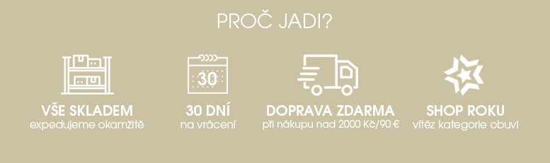 Výhody nákupu v JADI