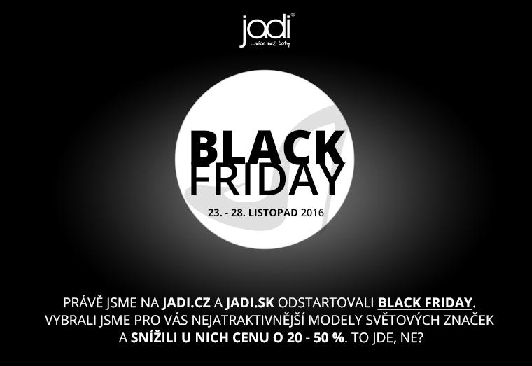 Black Friday 2016 je tady!