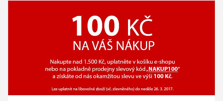 100 Kč pro Vás